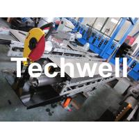 Best Square / Round Mobile Downpipe Forming Machine / Cold Roll Forming Machine wholesale