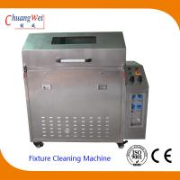Quality Wave Solder smt cleaning equipment , pallet washer machines with 3 Levels Filter System wholesale
