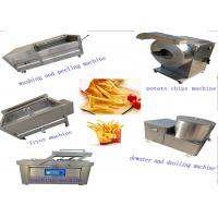 Buy cheap High Efficiency Small Scale Potato Chips Machine French Fries Processing Machine from wholesalers