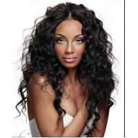 Best Brazilian Curly Full Lace Wigs Human Hair Wigs With Baby Hair Natural Black wholesale