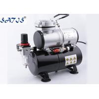 Best 3.0l Air Tank 1/6hp Power Mini Air Compressor For Airbrush Painting Decoration wholesale