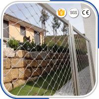 Best Customized 2.0 mm high quality X-tend ferrule cable mesh fence for outdoor balustrade infill wholesale