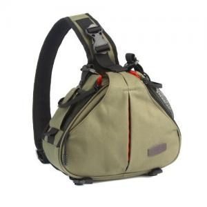 Best Caden K1 Army Green Waterproof Fashion Casual DSLR Camera Bag Case Messenger Shoulder Bag wholesale