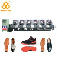 Best Energy Saving Static Rubber Sole Making Machine Mono Color 5.3*3.5*2.6m wholesale