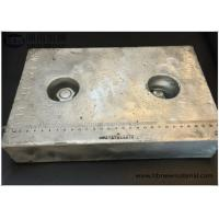 Best Marine Sacrificial Zinc Anode For Ship , Zinc Hull Anode ISO DNV BV Fit Marine wholesale