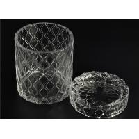 Best Beautiful Straight Wall Glass Cylinder Candle Holders For Candle Making wholesale
