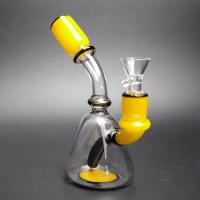 Best Small Cute Glass Water Piece Tobacco Glass Bongs / Party Bong With 14mm Male wholesale