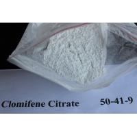 Safety Anti Estrogen Clomid Steroids Clomifene Citrate Powder for Muscle Building CAS 50-41-9