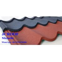 Best SONCAP Stone Coated Metal Shingles With Durablegalvanized Steel Plate wholesale