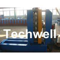 Best 0.25 - 0.8mm Thickness PLC Control Crimped Curving Machine With 2.2KW wholesale