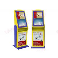 Best Good Price High quality customized 32 inch touchscreen lobby free stand cinema ticket vending Kiosk with card reader wholesale