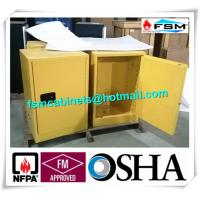 Best Flammable Storage Containers , Chemical Storage Cabinets For Laboratory wholesale
