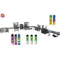 China Pneumatic Automatic Aerosol Filling Machine for Pesticide Insecticide Insect Killer on sale