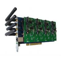 Best GSM400 Wireless 4 Port GSM Asterisk PCI Card wholesale