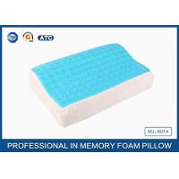 Best Softest Contour Dream Flat Memory Foam Pillow Stomach Sleeper , gel pillow case wholesale
