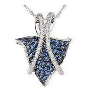 Best Pendant Sapphire & Diamond Pendant wholesale