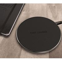 Best Black / White / Red Android / Iphone Samsung Galaxy Wireless Charging Pad wholesale