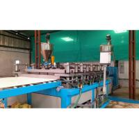 Best PE / PP Sheet Plastic Plate Extrusion Line , Single Screw Extruder Machine wholesale