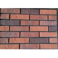 Best Steam - Crued Faux Brick Veneer Exterior Thickness 10-15mm With Cement / Pigment wholesale