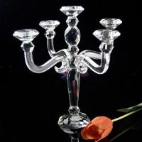 Cheap Supply crystal candleholder for sale