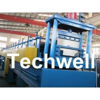 Best 18 Forming Stations Top Hat Purlin Roll Forming Machine With Manual / Hydraulic Uncoiler wholesale