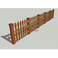 Best Customized WPCcomposite Wood Fence , Artificial Wood Fence Environmental Friendly wholesale