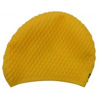 Best 2014 new style printed silicone swim caps free shipping wholesale
