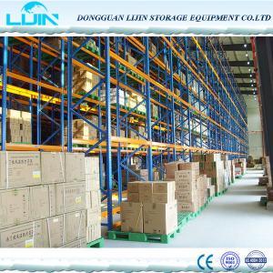 Adjustable industrial Superlock pallet warehouse racking system Heavy Duty Storage Racks