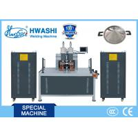 Best 380V Cookware Spot Stainless Steel Automatic Welding Machine For Frying Pan / Pot wholesale