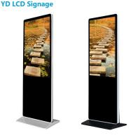 "Best Ultra Thin LCD Digital Signage Display , 49"" Multi Touch Kiosk With Lock wholesale"