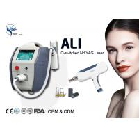 Quality 1064nm 532nm Q-Switched Nd Yag Laser Machine For Nail Fungus Removal 500 W wholesale
