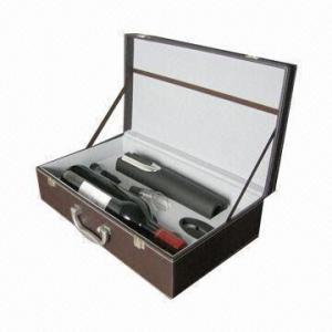 Best Delicate Elecric Wine Opener Gift Set, 5 Pieces/Set wholesale