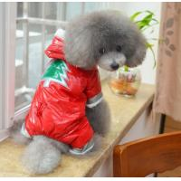 Best Customizable christmas dog clothes Down jack pet coats and jackets for medium dog wholesale