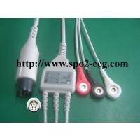 Best OEM ODM ECG Lead Cable 3 / 5lead AHA IEC LL Style ,1KΩ Resistance wholesale
