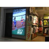 Best Wall Display Sign Fabric LED Light Box Single Side Custom Sizes For Large Format wholesale