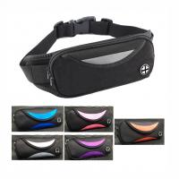 Buy cheap Solid Spandex Jogging Waist Bag Wholesales Nylon Polyester Running Waist Packs from wholesalers