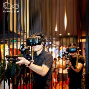 Best HTC VIVE VR Standing Platform Multiplayer 4 People Interactive Shooting Games wholesale