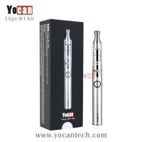 Best amazing new arrive innovative wax chamber vaporizer Yocan EXgo W1 very expressive good taste wax pen vaporizer wholesale