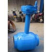 Quality Underground Water / Oil 1200mm Welding Connect Ball Valve DN15 ~ DN1400 wholesale