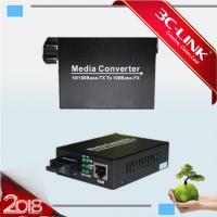 Best 10/100M WDM Converter RJ-45 Fiber Optic mini Medioa Converter sfp module wholesale