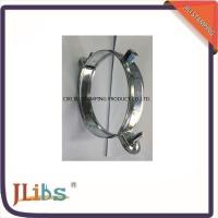 Quality Custom Standard Galvanised Steel Hanging Pipe Clamps 63mm - 315mm wholesale