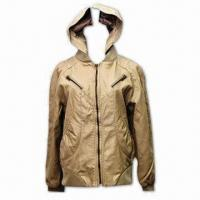 Best Women's PU Jacket, Available in Cream, Fashionable Style wholesale