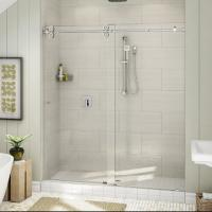 Best Top Roller Bathroom Sliding Glass Door Frameless Shower Enclosure wholesale