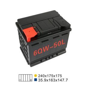Best 6 Qw 50L Agm Lead Acid Car Start And Stop Battery 45AH 20HR For Automotive wholesale