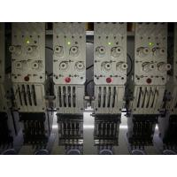 Buy cheap 4 Needle 400*850mm Embroidery Area 28 Head Flat Embroidery Machine from wholesalers