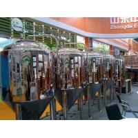 Best Automatic Turnkey Microbrewery Equipment Stainless Steel Or Copper Material wholesale