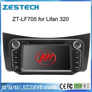Best ZESTECH wholesale 2 din touch sreen gps car sat nav Lifan 320 car dvd gps navigation satnav wholesale