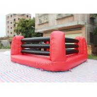 Best Kids And Adults Inflatable Sports Games Boxing Ring 5 X 5 X 1.5 M Height wholesale