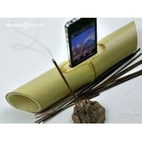 Best phone music player bamboo speaker for mobile phone wholesale
