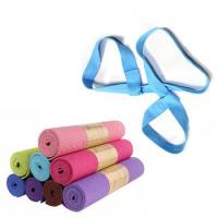 China Custom Yoga Mat Carrying Strap / Belt , Cotton Material Exercise Mat Carry Strap on sale